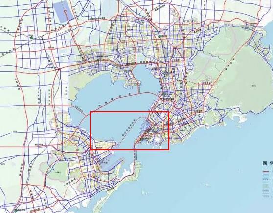 青岛一下银川的地图