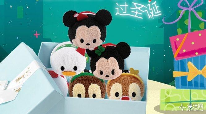 吃可爱长大的米奇松松,也出圣诞礼盒了.
