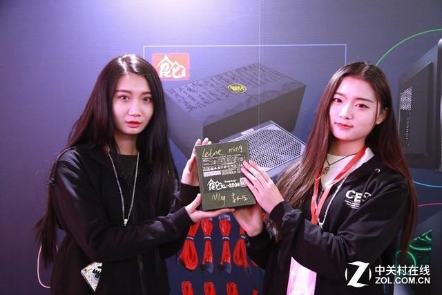 回顾电竞大赛 鑫谷CGU2017展品牌实力