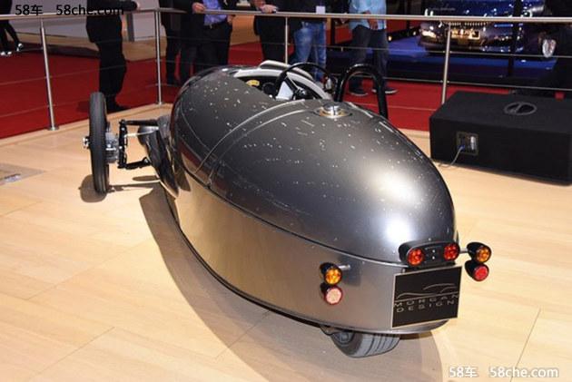 布局电动车 摩根EV3确定2018年正式量产