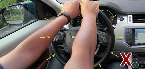 徐州欧米茄手表回收说方向盘怎么打才安全 许多老司机握法都不对