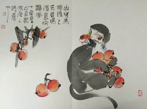 花鸟画家陈长清 水墨丹青绘情思