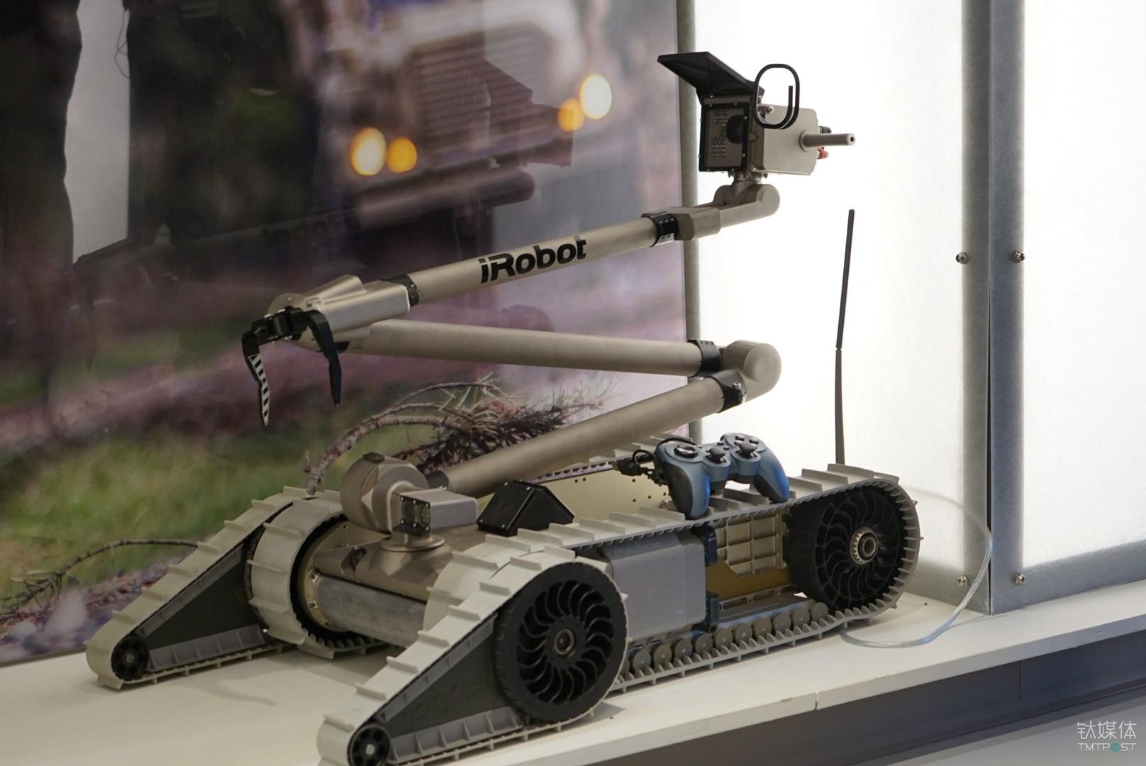 iRobot 排雷机器人 PackBot®
