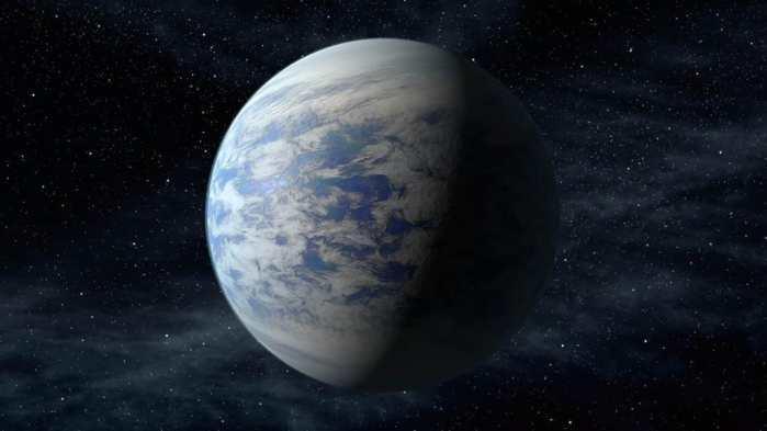 """宇宙暗处出现""""迷你地球"""",科学家:远远望去,似乎有海洋和白云"""