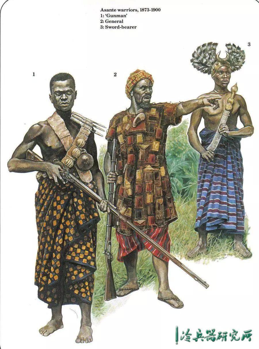 刀法似菲律宾短棍术腿法似咏春拳!阿散蒂砍刀为何能征服非洲?