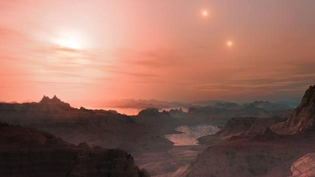 火星火山口中发现重要生命组成物质硼酸盐3