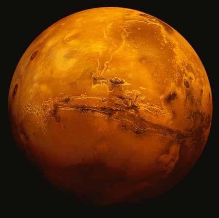火星火山口中发现重要生命组成物质硼酸盐1