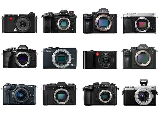 在即将过去的2017年,我们看到数码相机行业发 原标题:单反与微单的