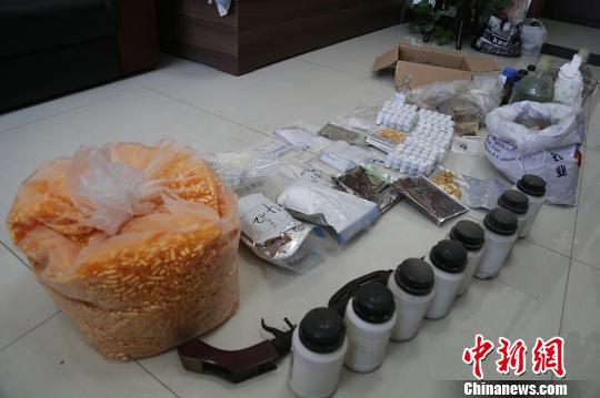 山西警方破特大网络制贩毒案 90后女孩QQ群自学制毒