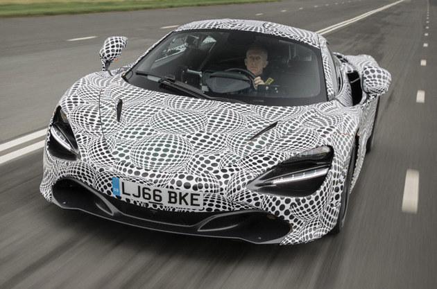 迈凯伦开始测试电动跑车 距量产还有距离