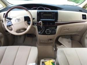 17款丰田普瑞维亚2.4L中东版年底冰点价