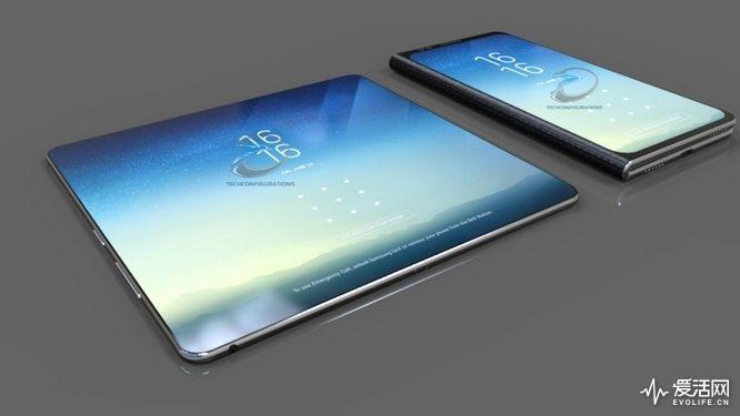 屏幕太小?折叠屏Galaxy X让手机当平板用
