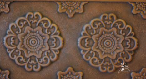 设计师还通过色彩 花纹和材料的搭配 将汉唐的装饰风格延伸到室内设计