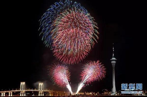 香港东方心经2018跨年 一起去港澳台看烟花!