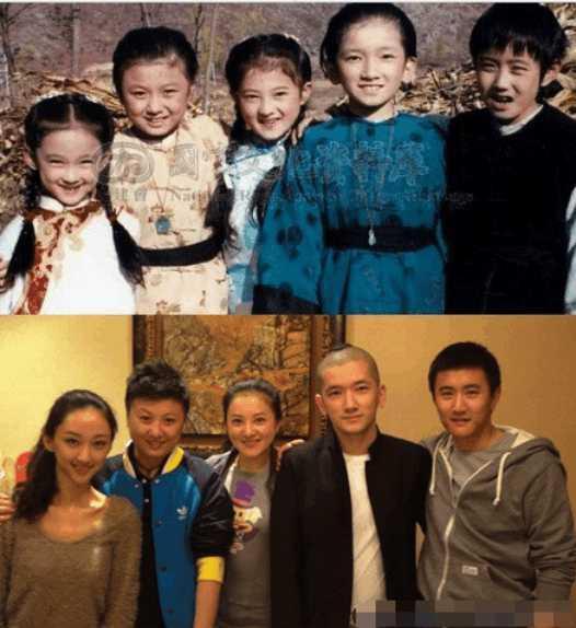 揭露明星照片背后的故事, 原来李湘年轻时长这样