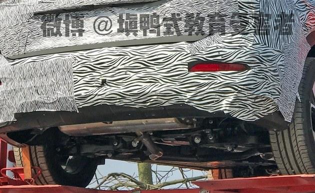 广汽传祺新一代GS5谍照曝光 或年内发布