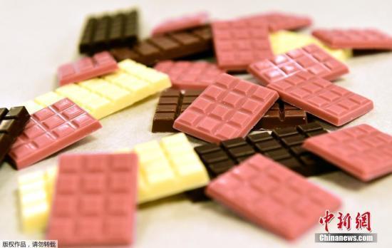 资料图:巧克力。
