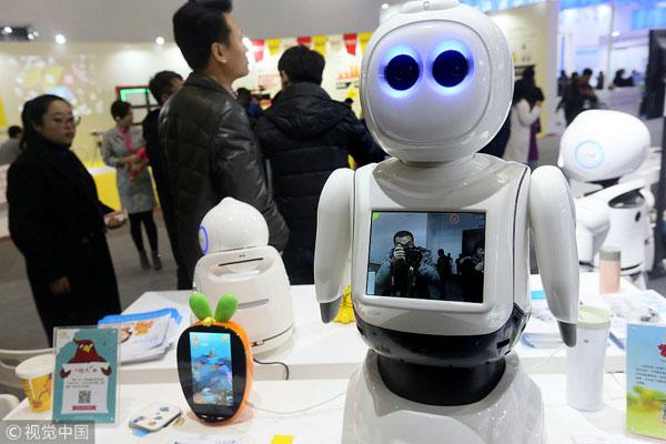 学生机器人智能大赛培养创新能力 看国外机器人