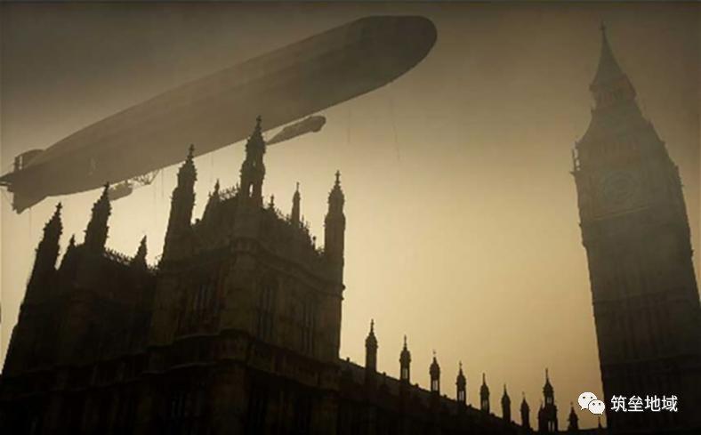 伦敦白金汉宫上空的鬼影:揭秘一战德国海军空中飞艇轰炸行动