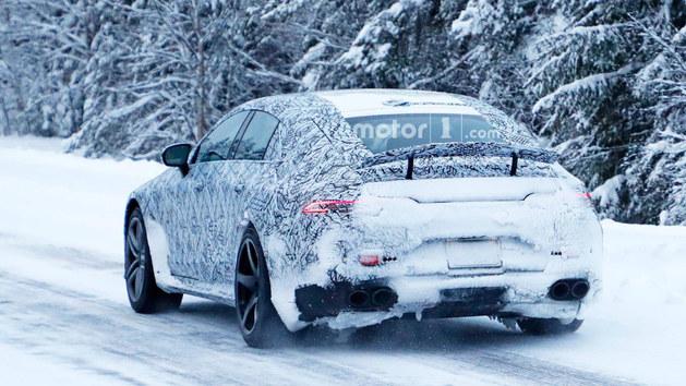 梅赛德斯AMG GT谍照曝光 四门版即将上市