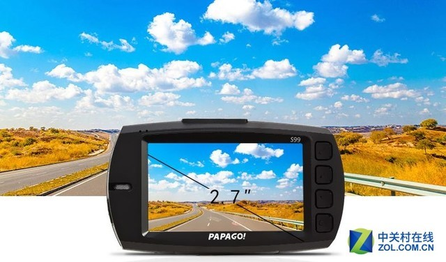 1440P高清夜视 PAPAGO S99记录仪现货