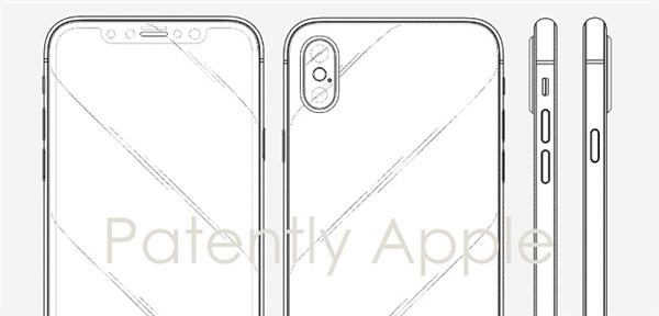 竞争对手哽咽!iPhone X拿下新专利 模仿刘海屏就是侵权