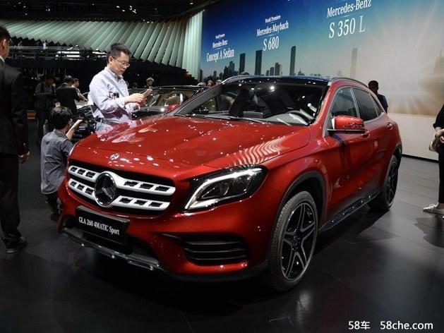 奔驰GLA让利高达5.9万 广州地区现车