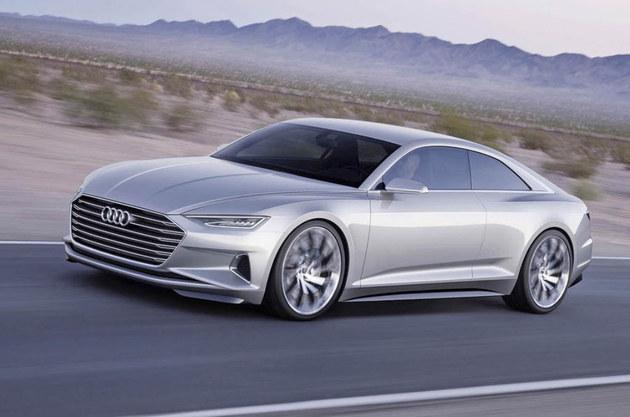 奥迪欲开发设计新A9车型_将与宝马8系竞争