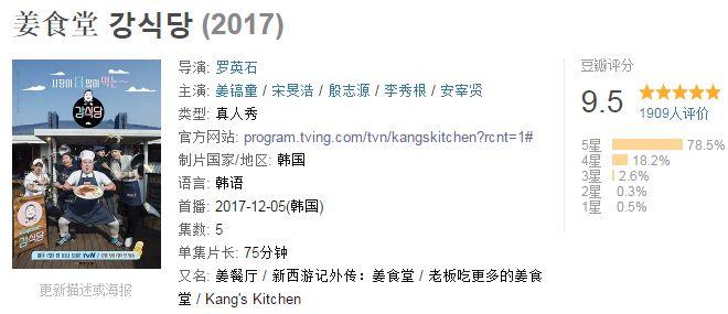 豆瓣9.5,韩国又拍了部复制不了的综艺!