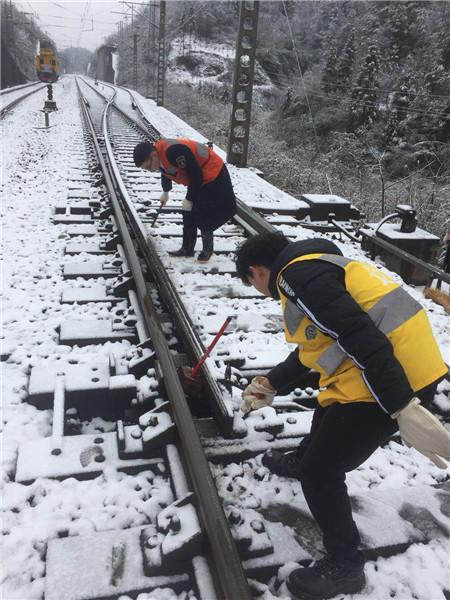 大雪致成都至上海等方向列车晚点 最长晚点6小时
