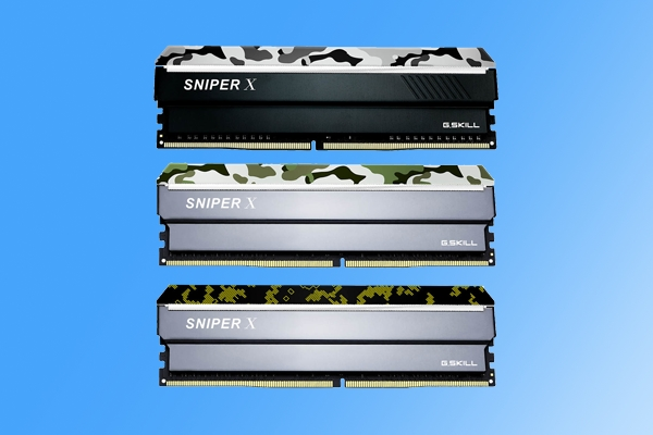 3600MHz!芝奇新款Sniper X系列内存发布:最高128GB可选