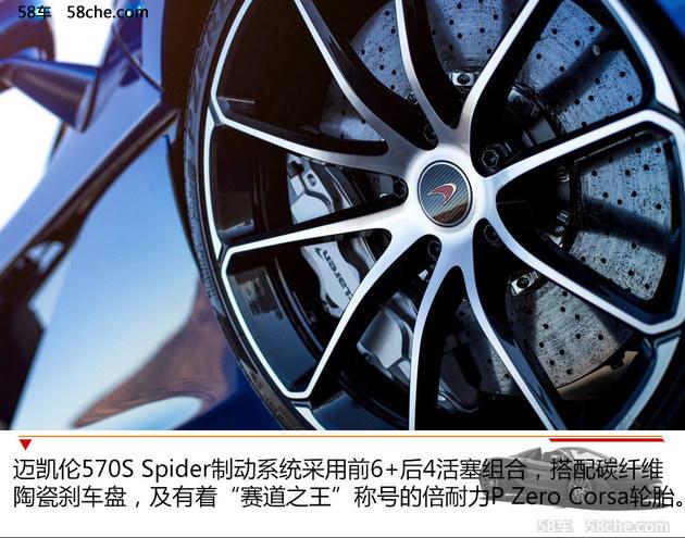 迈凯伦570S Spider官图解析不向性能妥协