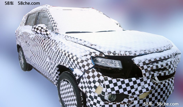 长安全新SUV谍照图曝光 采用家族式设计