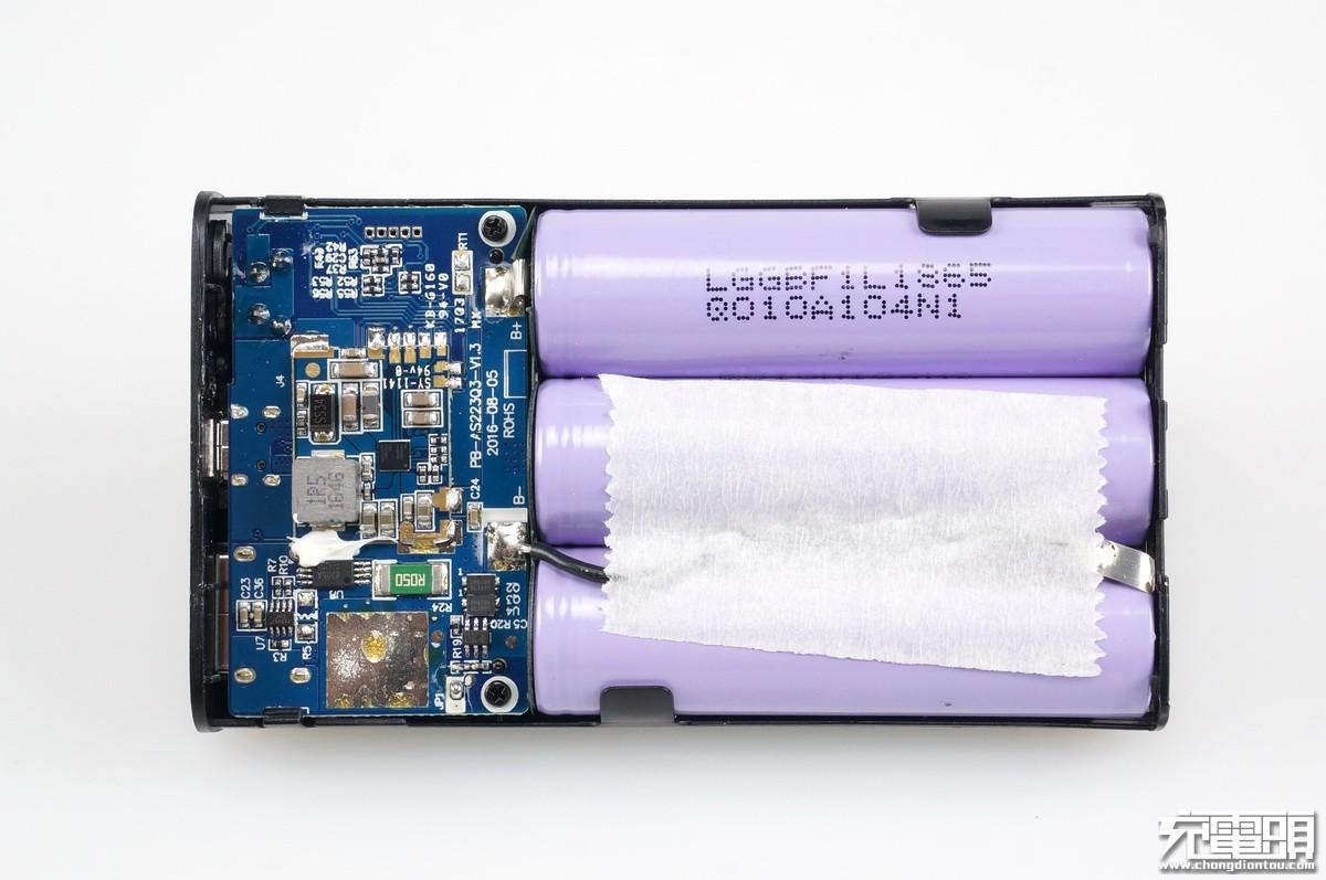 高通原厂认证,网易智造QC3.0 10050mAh移动电源开箱拆解