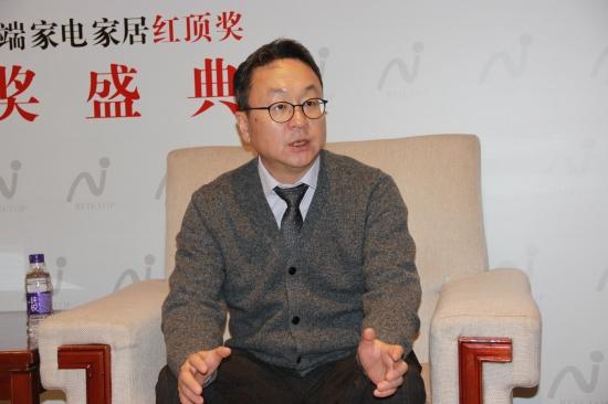 庆东纳碧安(中国)董事长金容范接受采访