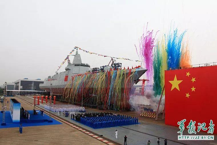 """进入冲刺阶段!中国新航母""""带刀侍卫""""建成在即"""