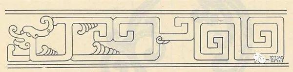 """二方连续,四方连续的组合图纹形式,常作雕刻的镜边框,纹样有""""缠枝莲花"""
