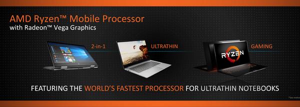 移动端最后一块拼图!AMD发布笔记本专用APU