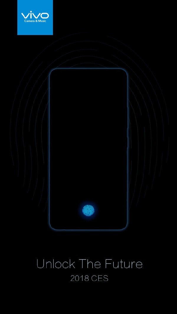 vivo宣布 屏下指纹正式亮相CES 2018