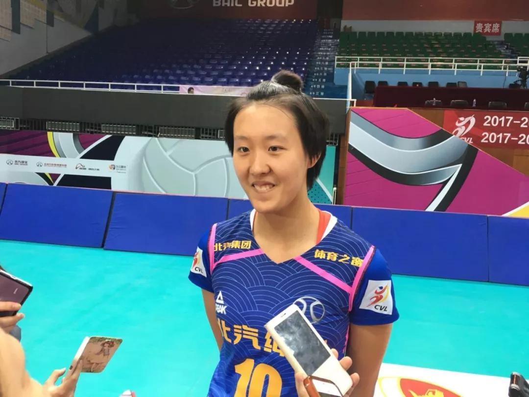 女排一小将高呼想进国家队 有望赶李盈莹成最大赢家