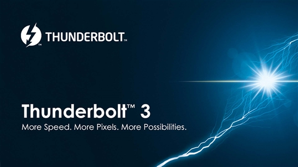 Intel雷电3升级:支持DisplayPort 1.4、8K视频