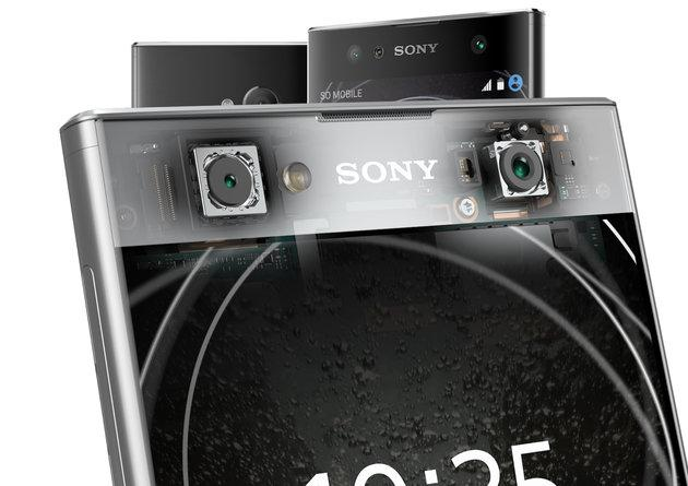 索尼三款新机亮相CES 依然还是主打拍照