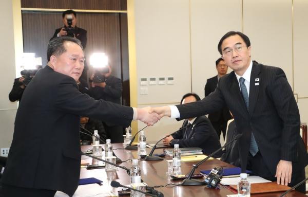 对朝韩关系的重大突破 外交部用中国民谣这样回应