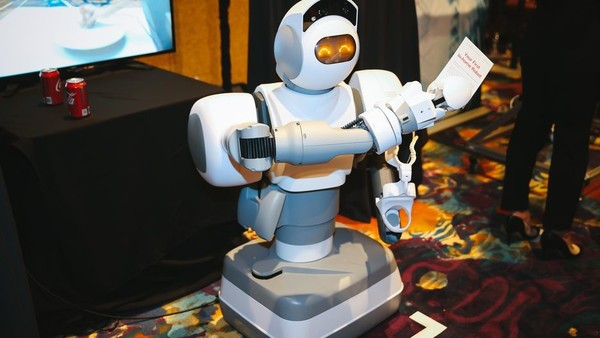 上的那些新奇的机器人