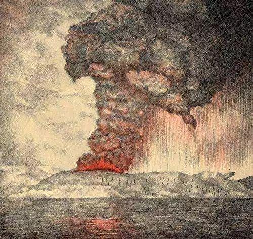 南半球的一次火山爆发:竟让中国从盛转衰,改变当今世界