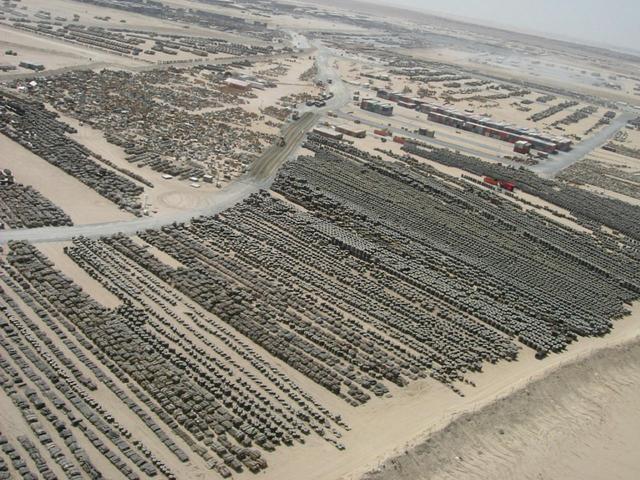 打一场地区战争需要多大后勤保障,看看阿瑞坎营就能明白