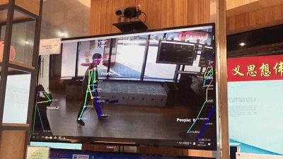靠人体姿态检测险情?迅通科技助力建成平安社