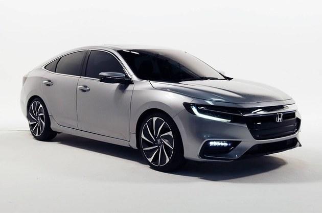 本田新INSIGHT原型车官图 今年夏季上市