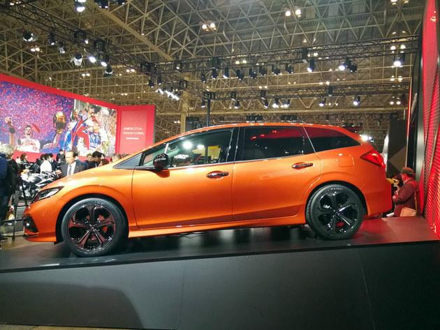 本田杰德RS概念车正式亮相 运动感出色
