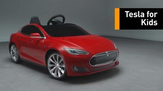 小司机发车:特斯拉推出儿童版Model S